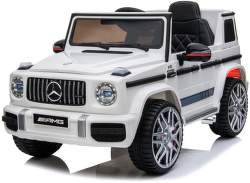 SparkTech Mercedes G63 AMG elektrické autíčko bílé
