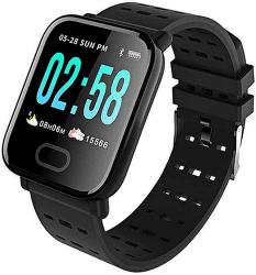 Power+ Smart Band A6 černé