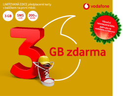 Vodafone zlatá SIM karta