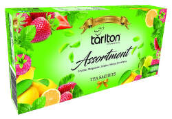 Tarlton Assortment 5 Flavour zelený čaj 200g