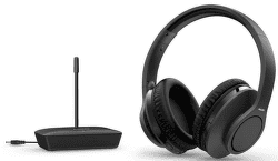 Philips TAH6005 černá bezdrátová TV sluchátka