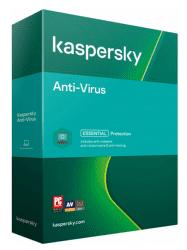 Kaspersky Anti-Virus 3PC/1R 2021 Nová Box + Safe Kids na 6 měsíců