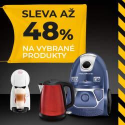 Výprodej vybraných produktů Rowenta, Tefal a Krups se slevami až 48 %