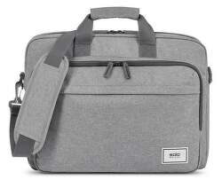 "SOLO NY RE:NEW BRIEFCASE šedá taška na 15,6"" notebook"