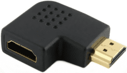 Power+ 20111 - HDMI (samec) na (samice) adapter - levý