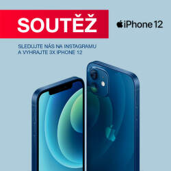 Soutěž o 3x Apple iPhone 12 na Instagramu