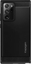Spigen Rugged Armor pouzdro pro Samsung Galaxy Note20 Ultra 5G černé