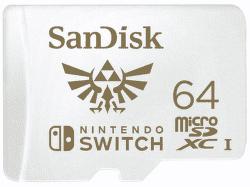 SanDisk micro SDXC 64GB pro Nintendo Switch