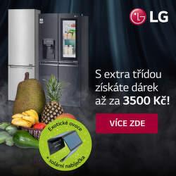 Získejte dárek až v hodnotě 3 500 Kč k lednicím LG