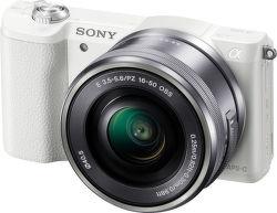 Sony Alpha 5100 + 16–50 mm F3,5–5,6 OSS (bílý)