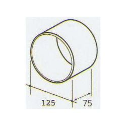 ELICA 1052 P, plastove rozvody 125mm