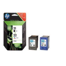 HP SD367AE No.21 + No.22 color - atrament