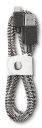 Cellular Line LongLife MicroUSB kabel (fabric)