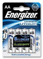 Energizer Ultimate Lithium AA FR6, 4ks