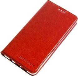 Redoint Slim Magnetic pouzdro pro Huawei Y6 2017 červené