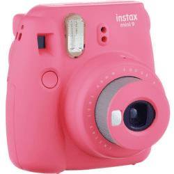 Fujifilm Instax Mini 9 růžový + Pouzdro + 10ks filmů