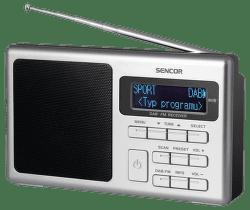 Sencor SRD 6400 stříbrné