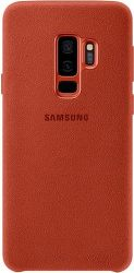 Samsung Alcantara pro Samsung Galaxy S9+, červené