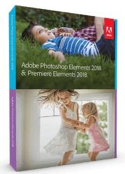 Adobe Photoshop Elements & Premiere Elements 18 Box