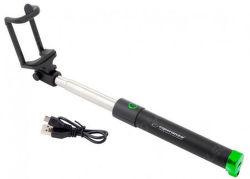Esperanza EMM121KG selfie tyč, černo-zelená