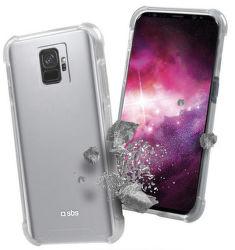 SBS Hard Shock pouzdro pro Galaxy S9, transparentní