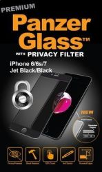 PanzerGlass Premium Privacy tvrzené sklo pro iPhone 7/6/6s, černé
