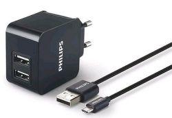 Philips DLP2307U/12 micro USB černá, nabíječka
