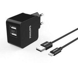 Philips DLP2307A/12 USB-C černá, nabíječka