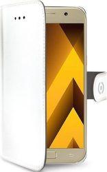 Celly Wally knížkové pouzdro pro Samsung Galaxy A5 2017, bílá