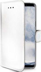 Celly Wally knížkové pouzdro pro Samsung Galaxy S9, bílá