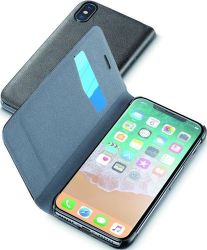 Cellular Line Book Essential pouzdro pro iPhone X, černá