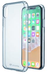 Cellular Line Clear Duo pouzdro pro iPhone X, transparentní