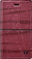 Mobilnet Luxury knížkové pouzdro pro Samsung Galaxy S8, červená