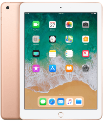 Apple iPad 2018 32GB WiFi zlatý
