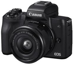 Canon EOS M50 černý + EF-M 15-45mm IS STM