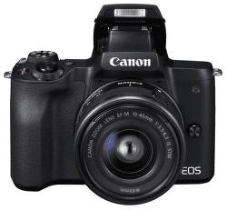 Canon EOS M50 černá + EF-M 15-45mm IS + EF-M 22mm