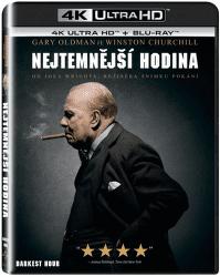 Nejtemnější hodina - Blu-ray + 4K UHD film