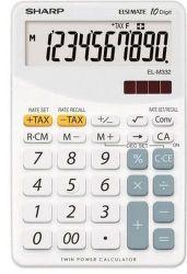 Sharp EL-M332BWH (bíla) - Stolní kalkulačka