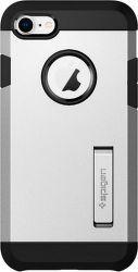 Spigen Tough Armor 2 pouzdro pro Apple iPhone 7/8, stříbrné