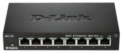 D-Link DES-108 - 100Mb 8-LAN switch