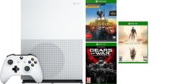 Microsoft Xbox One S 1TB PlayerUnknown's Battlegrounds + Gears Of War Ultimate Edition + Halo5