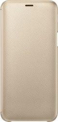 Samsung Wallet Cover pouzdro pro Samsung Galaxy J6, zlatá