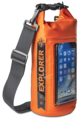 Celly Explorer 2L vak s kapsou, oranžový