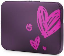 """HP Spectrum Hearts - Pouzdro na notebook 15,6"""" fialové"""