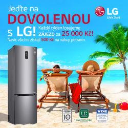 500 Kč poukázka na nákup a soutěž o zájezd s LG