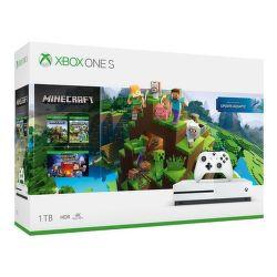 Microsoft Xbox One S 1TB + Minecraft + Minecraft: Story Mode