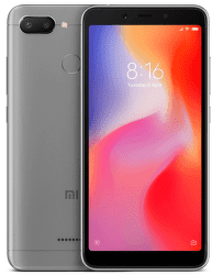 Xiaomi Redmi 6 32 GB šedý