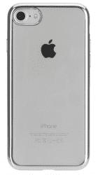 Xqisit Flex Case Chromed Edge pouzdro pro iPhone 8/7/6S/6, stříbrné