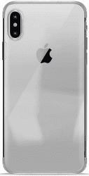Puro Verge Crystal pouzdro pro Apple iPhone X, stříbrné