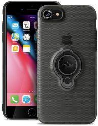 Puro zadni kryt Magnet Ring pro Apple iPhone 8/7, černá